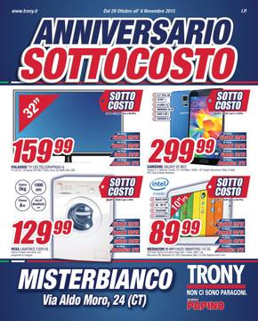Trony a gravina di catania offerte e promozioni for Volantino super conveniente catania misterbianco