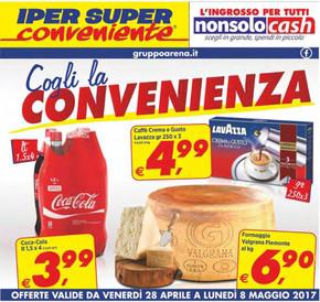 Iper super conveniente a acireale offerte e promozioni for Volantino iper conveniente