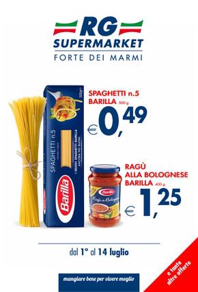 Rg supermarket a viareggio offerte e promozioni for Negozi arredamento viareggio