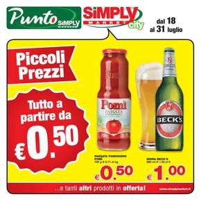 Volantino simply market offerte e orari for Simply messina volantino