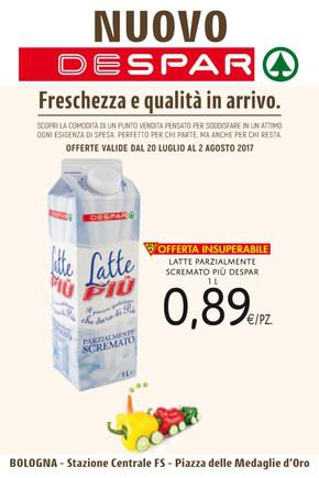 Volantino despar a bologna offerte e orari for Volantino offerte despar messina