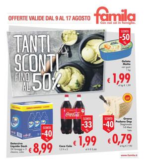 Volantino famila superstore a milazzo offerte e orari for Volantino ard discount milazzo