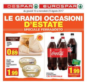 Volantino eurospar a pescara offerte e orari for Volantino offerte despar messina